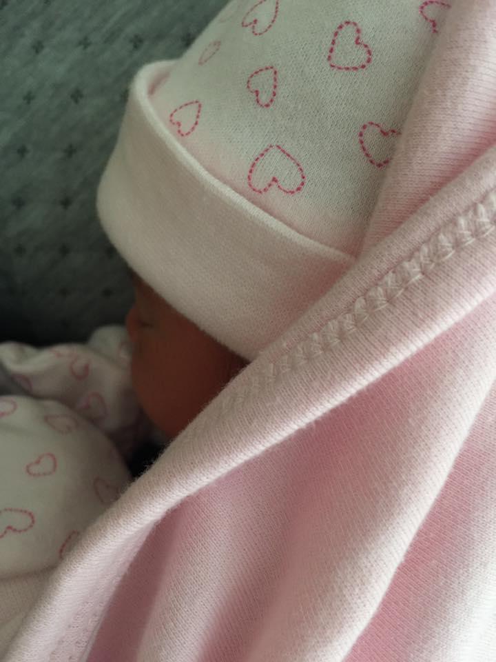 La petite fille de Heitiare Tribondeau est née