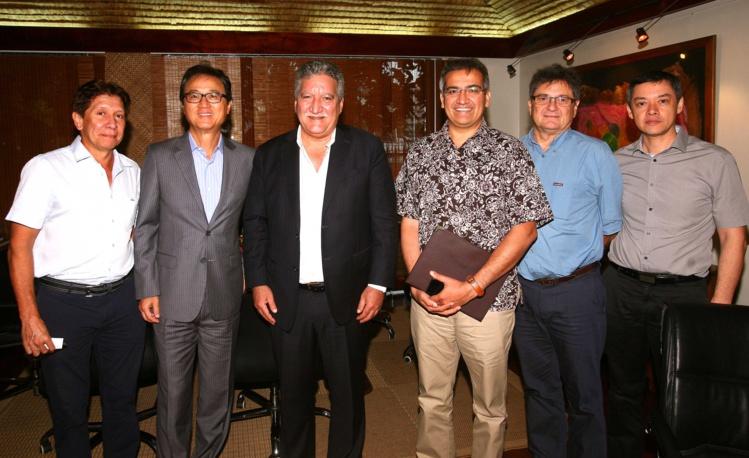 Le Vice-Président de Starwood Hotel and Resorts s'intéresse au tourisme en Polynésie