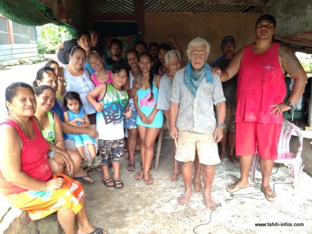 Une centaine de personnes vivent aujourd'hui au sein du village d'Orofara.
