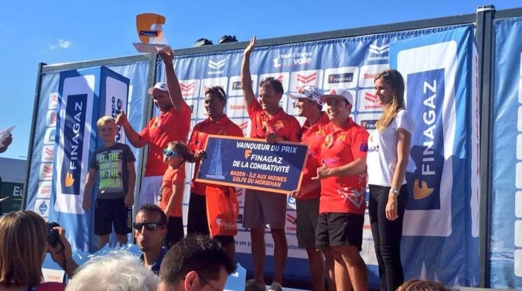 Trésor de Tahiti gagne le prix Finagaz récompensant la combattivité