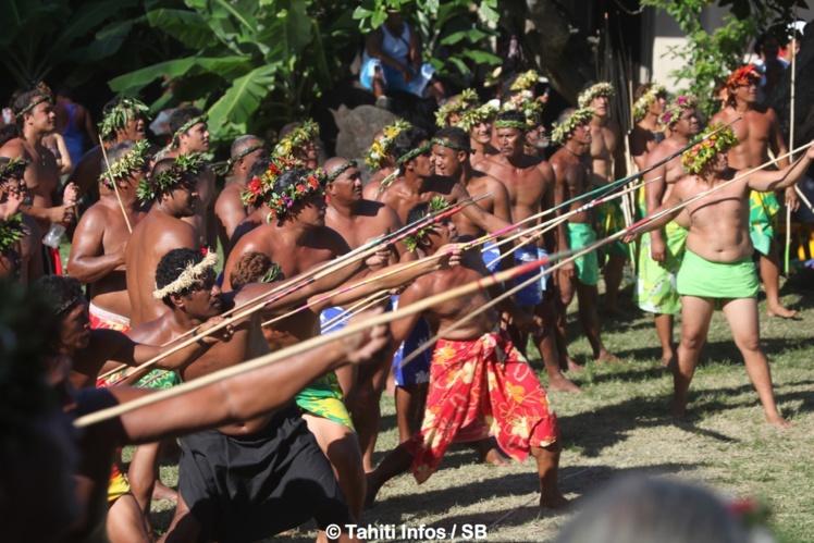 Les Tuamotu ont dominé le lancer du javelot, comme chaque année