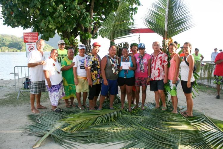 Nelson Lefoc gagnant du concours à Huahine