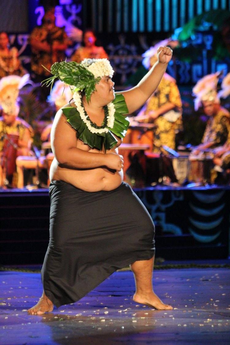 Le meilleur danseur de Ahutoru Nui a pris son courage à deux mains jeudi dernier.