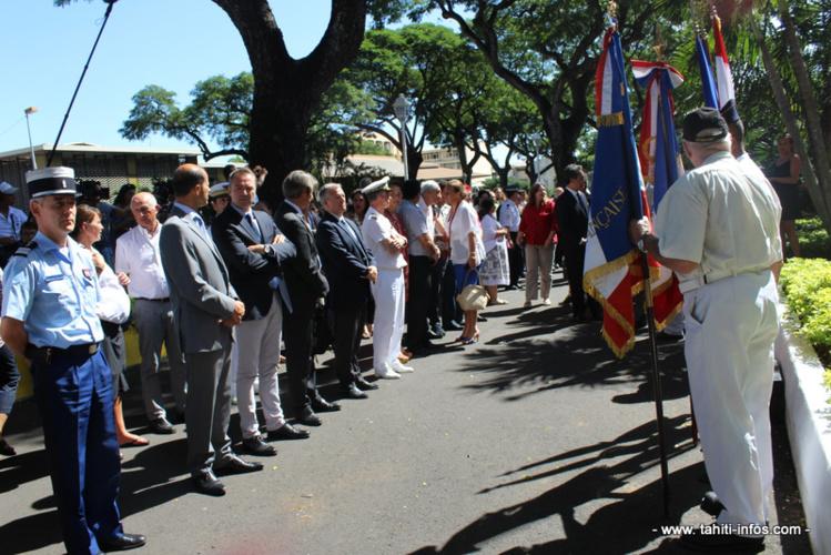 Les niçois de Tahiti se recueillent en mémoire des victimes des attentats