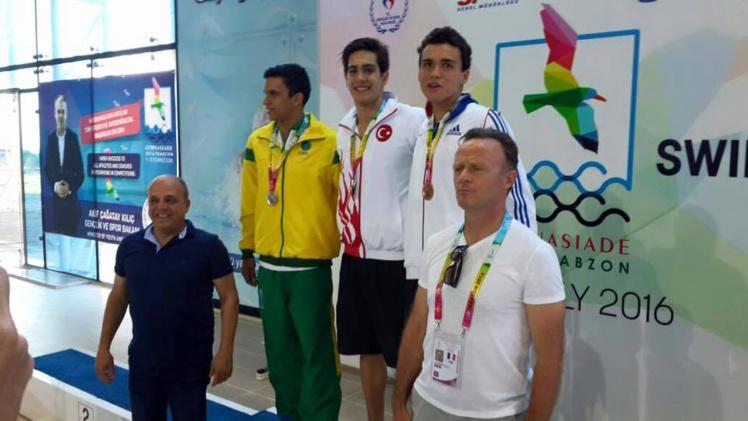 Natation : Nicolas Vermorel décroche une médaille de bronze aux Jeux Olympiques du Sport Scolaire