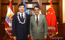 """""""La relation entre la Chine et la Polynésie française est une composante importante des relations sino-françaises"""""""