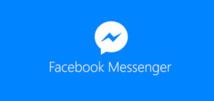 Facebook: la messagerie Messenger dépasse le milliard d'utilisateurs