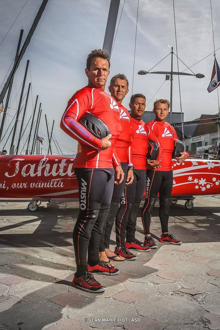 """le team """"Trésors de Tahiti"""" était arrivé à Roses en conquérant"""