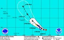 Pacifique: Hawaï sur la trajectoire d'une tempête tropicale