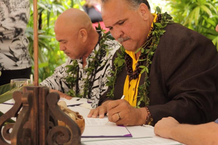 Signature entre les deux tavana pour ce nouveau partenariat