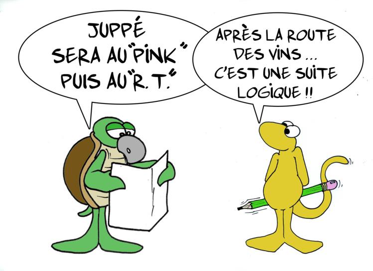 """"""" Juppé, épisode 1"""" par Munoz"""