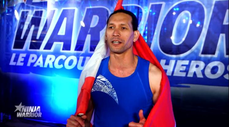Après koh Lanta, Teheiura passe les épreuves de Ninja Warrior