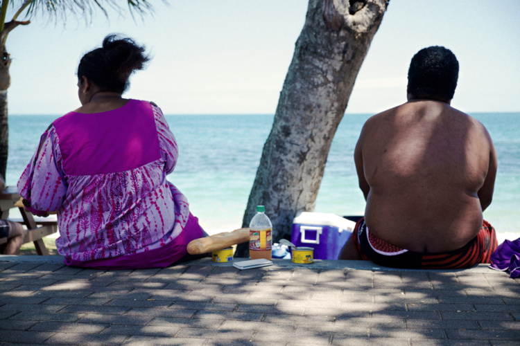 En Polynésie française, 70 % des adultes et 34 % des enfants de 7 à 9 ans sont en surpoids. Photo : AFP illustration