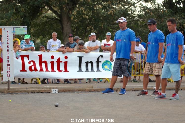 Le Tophée Tahiti Infos aura lieu samedi 30 et dimanche 31 juillet, au boulodrome de Papara.