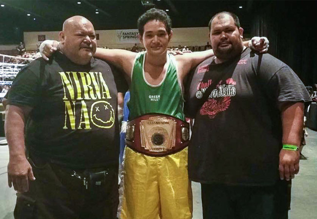 Boxe : Heremoana Vahinemoea remporte le 15ème tournoi international du « Desert Show Down »