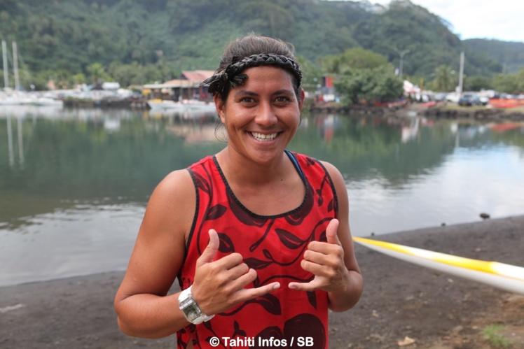 Hinatea Bernadino est actuellement la n°1 chez les femmes
