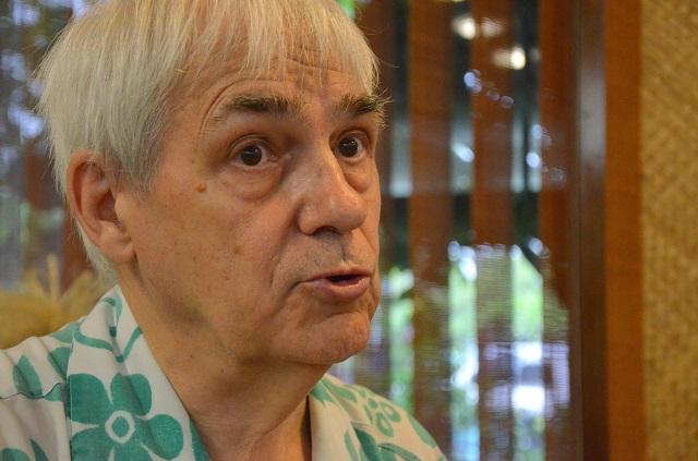Pendant plusieurs années, Bruno Barrillot, expert indépendant et de renommée internationale, a assuré la fonction de de délégué polynésien pour le suivi des conséquences des essais nucléaires.