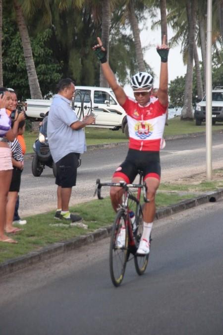 Cyclisme : Raimana Mataoa, « Aito » du Tour Hava'i 2016