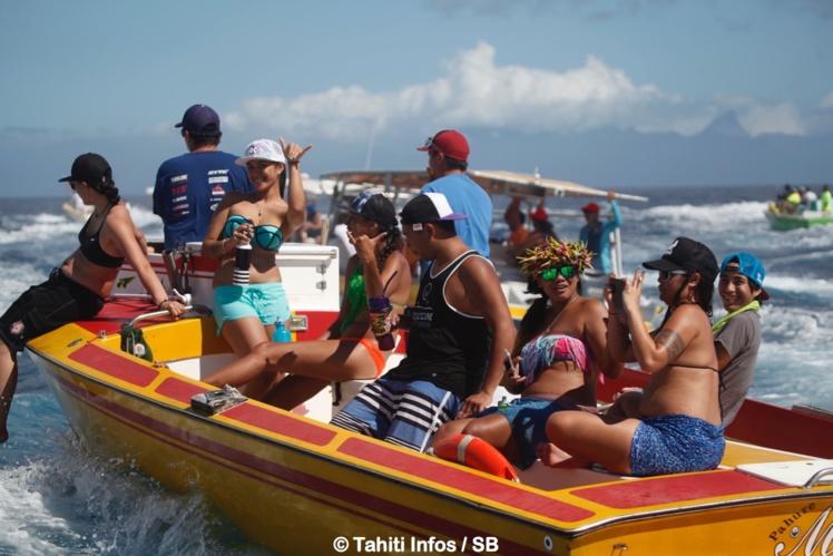 Moins de bateaux sur l'eau mais toujours autant d'ambiance