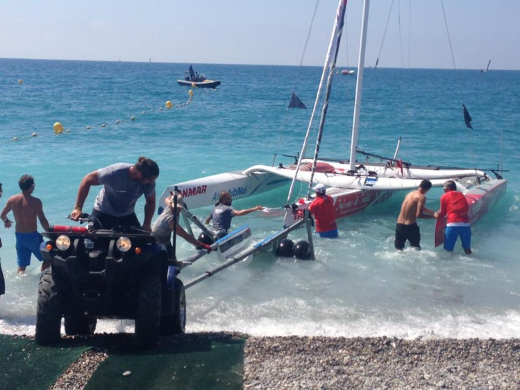 Le bateau va être rapatrié à Tahiti