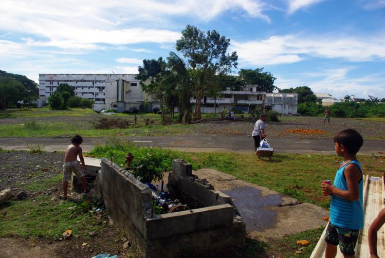 Mamao : un plan d'aménagement provisoire pour les habitants du quartier