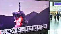 """Missile nord-coréen tombé au large du Japon: Tokyo condamne """"une menace sérieuse"""""""