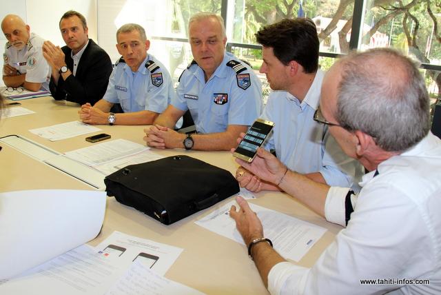 Comme en métropole, les forces de l'ordre, en accord avec les opérateurs locaux, pourront procéder au blocage à distance des téléphones signalés volés.