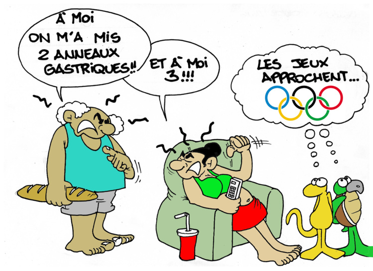 """"""" Les J.O approchent """" par Munoz"""
