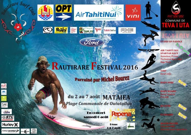 SUP, surf, jiu jitsu, beachsoccer… - Rautirare Festival : Un festival pluridisciplinaire à ne pas rater