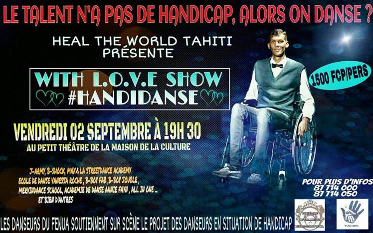 Pour interpeller le public, sur l'affiche, on voit le chanteur Stromae en fauteuil roulant.