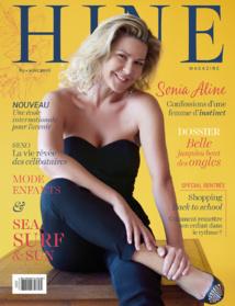 Sonia Aline à la Une du nouveau Hine magazine