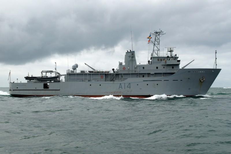 Le HMNZS Resolution, un ancien navire hydrographe de la Royal New Zealand Navy, a changé de nom (il s'appelle RV Geo Resolution) et effectue désormais des missions civiles, comme les relevés hydrographiques nécessaires à la pose d'un nouveau câble sous-marin.