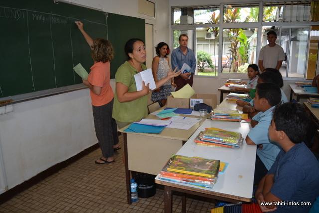 Les professeurs donnent les dernières consignes avant la grande rentrée prévue mardi