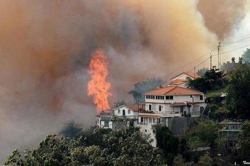 """Madère, la """"perle de l'Atlantique"""", frappée par des incendies meurtriers"""