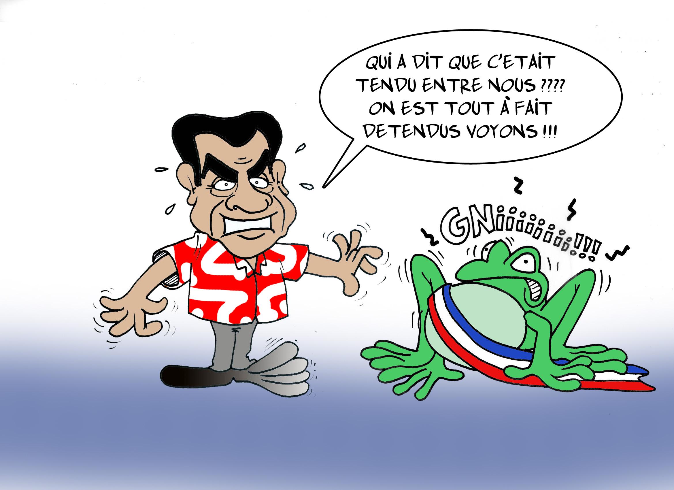 """"""" La fin de lune de miel entre Fritch et les maires ? """" par Munoz"""
