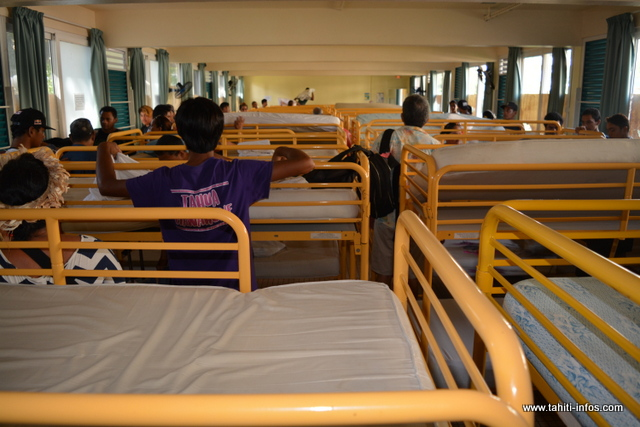 Cette année, on compte 362 internes au lycée du Taaone