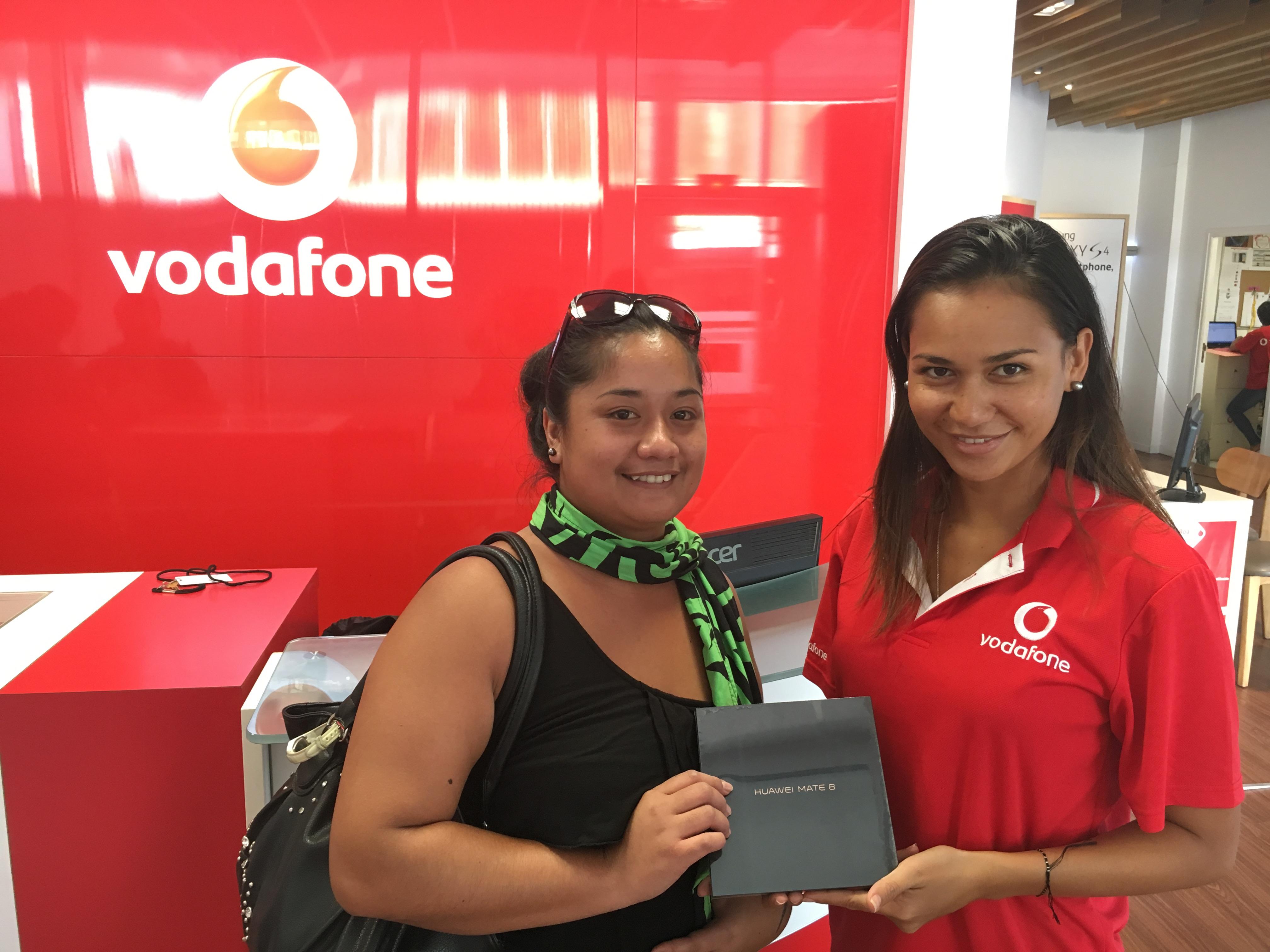 Nadine Maiti, la grande gagnante du jeu Vodafone sur Facebook.