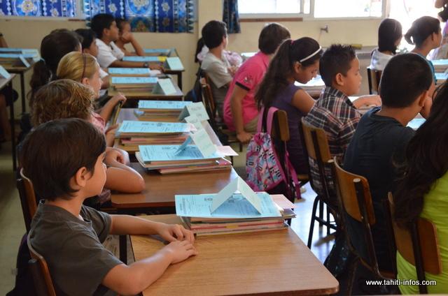 On dénombre près de 20 000 enfants scolarisés affiliés au RSPF