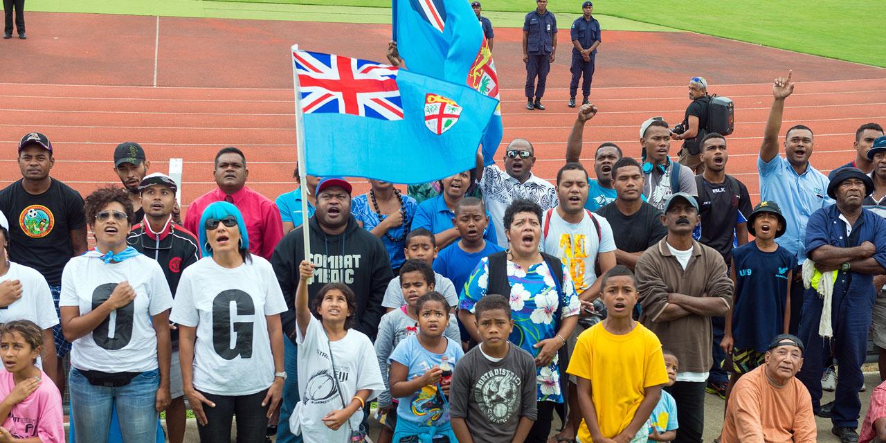 Fidji: le drapeau sauvé par les Jeux