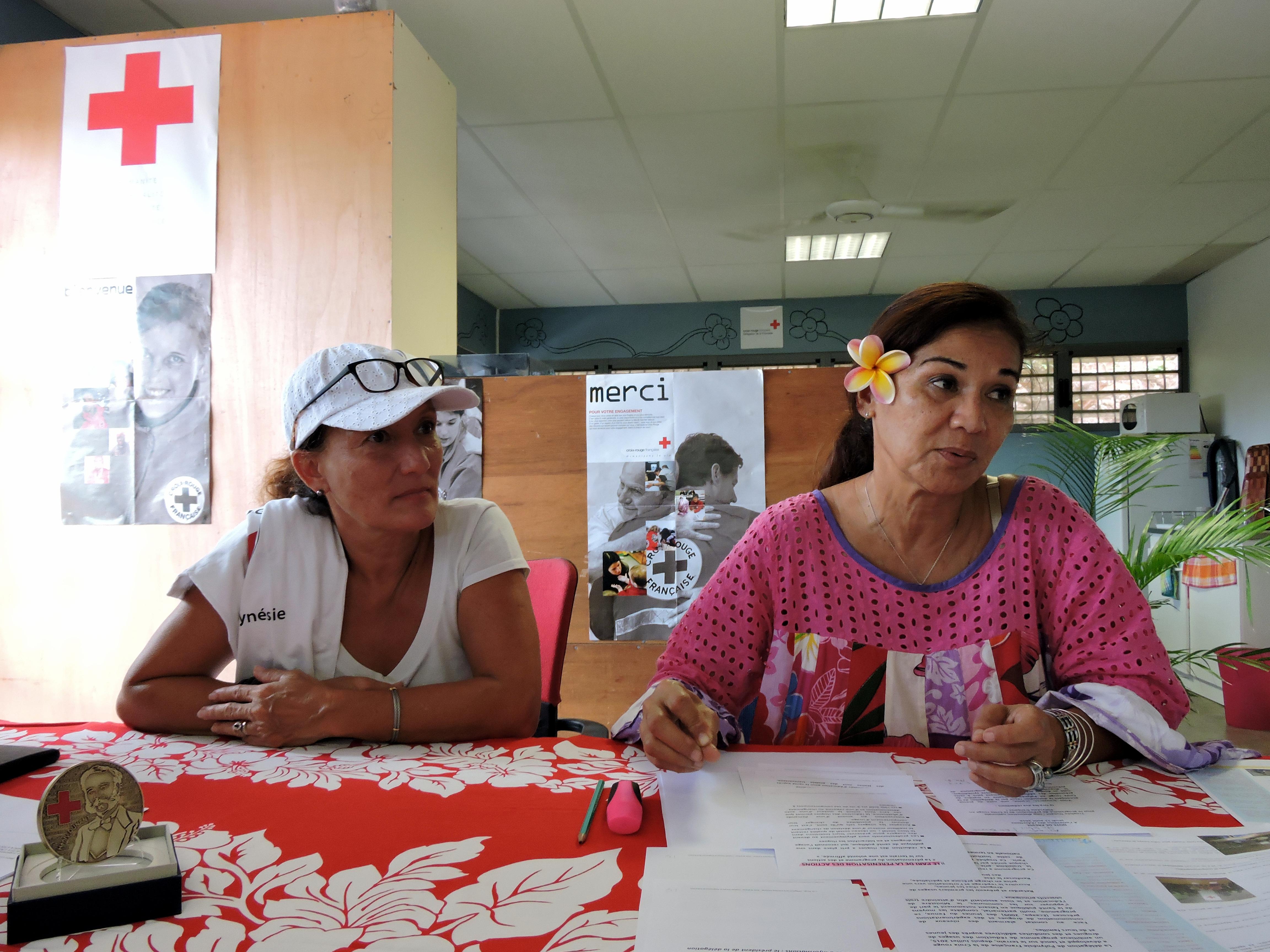 La Croix rouge Polynésie remporte le troisième prix du Trophée Dunant