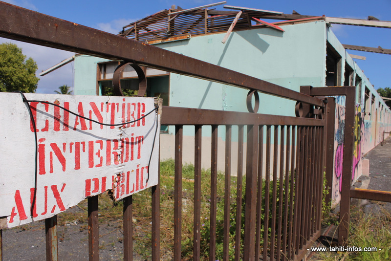 L'école Apatea à Papara est fermée depuis trois ans.