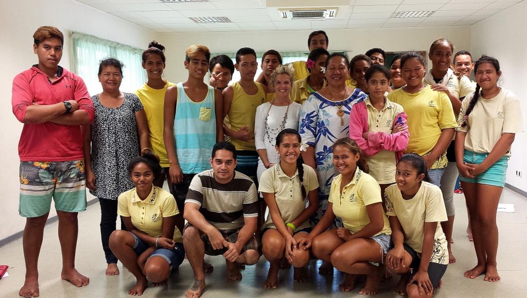 L'histoire des pari pari expliquée aux collégiens de Taunoa