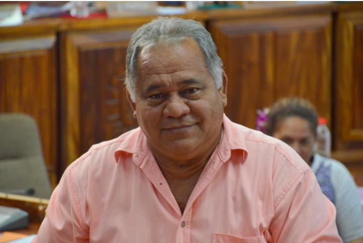 Rudolph Jordan, membre du groupe RMA depuis lundi 22 août après avoir quitté le Tahoera'a.