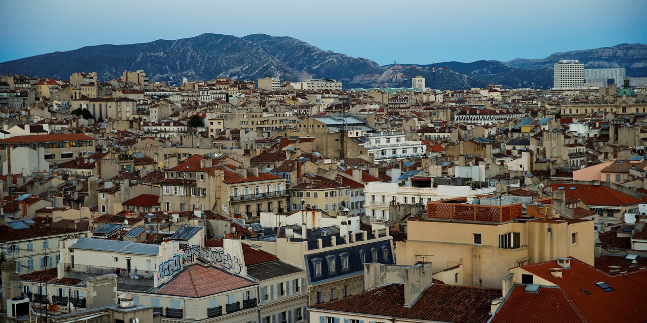 Marseille, l'une des plus anciennes villes d'Europe, a été fondée par des Grecs en 2.600 avant JC.@ ODD ANDERSEN / AFP