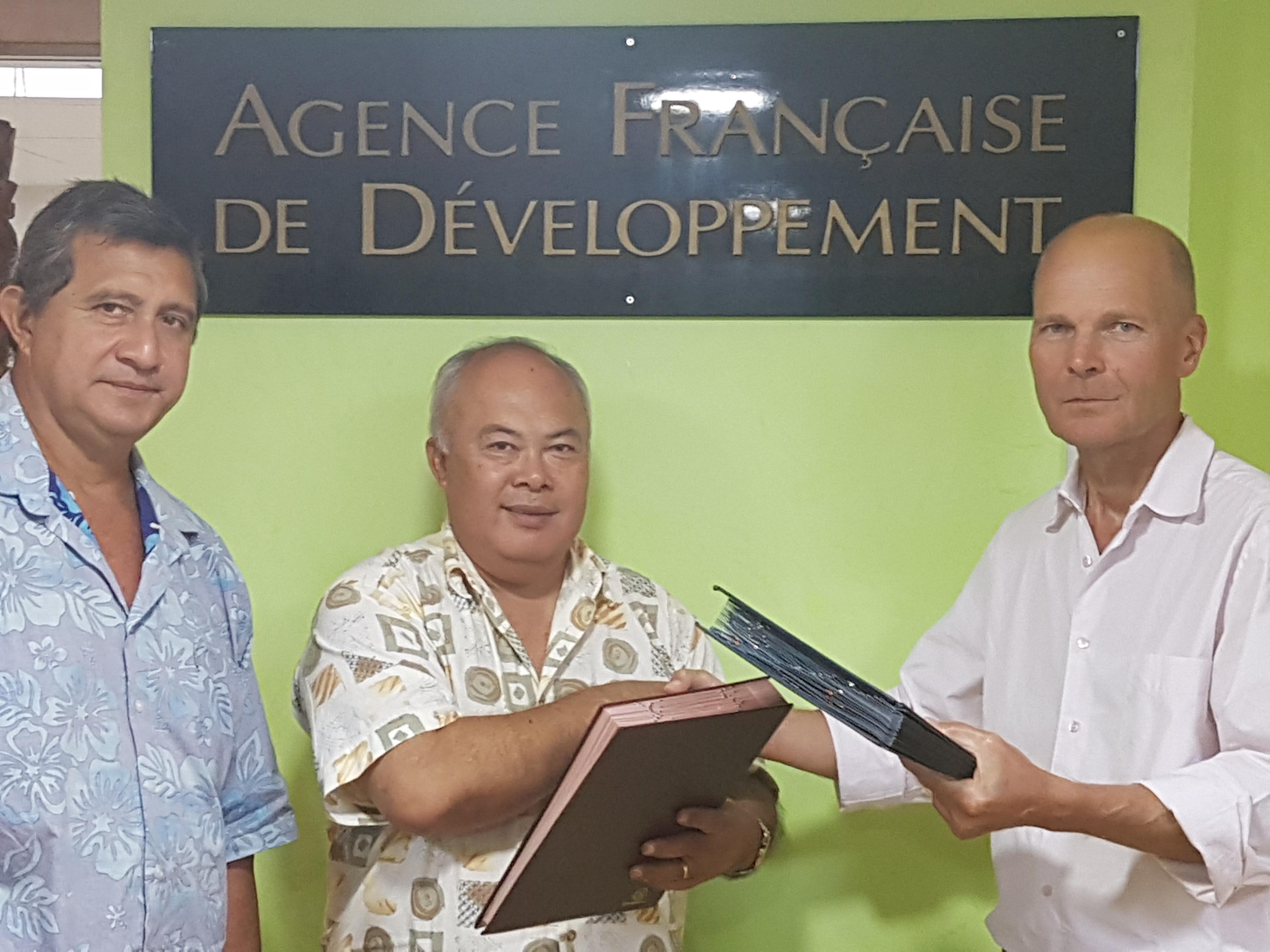 Rurutu signe une convention de crédit pour 63 millions Fcfp à l'AFD