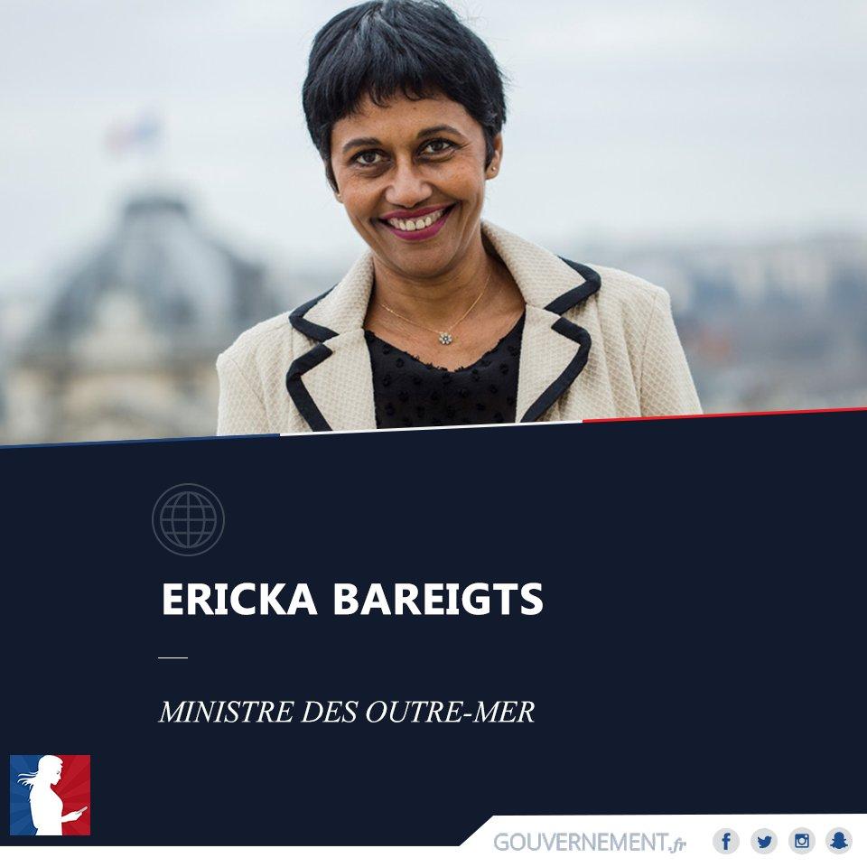 Ericka Bareigts devient la première ministre des Outre-mer réunionnaise