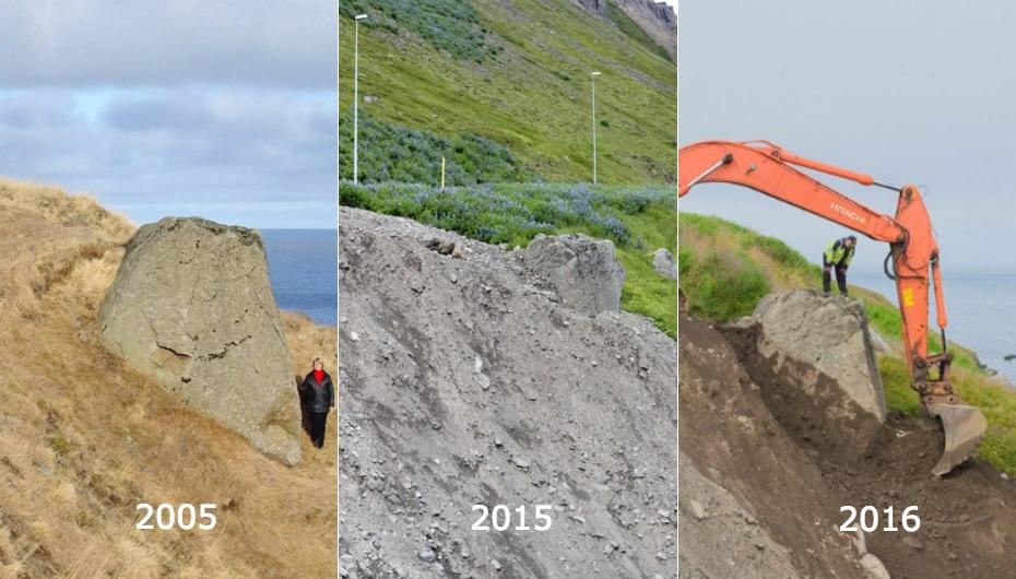 Islande : un rocher déterré pour calmer les elfes