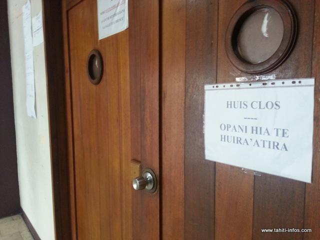 Le procès de l'agresseur sexuel d'une jeune fille de militaire, en octobre 2015 à Bora Bora, s'est déroulé ce matin à huis clos partiel devant le tribunal correctionnel.