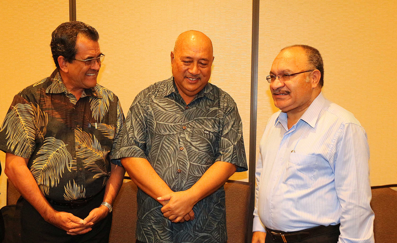 Conférence des dirigeants des îles du Pacifique : parler d'une même voix