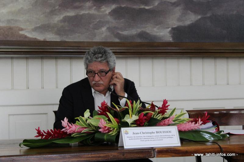 Jean-Christophe Bouissou, porte-parole du gouvernement.